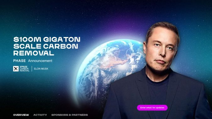 Elon Musk's $100 million carbon capture XPrize competition starts today