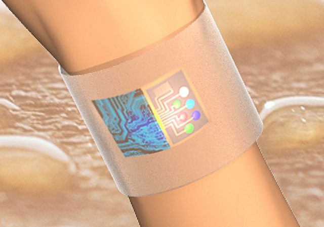 New wearable sensor uses nanomaterials technology to detect illegal drugs in sweat