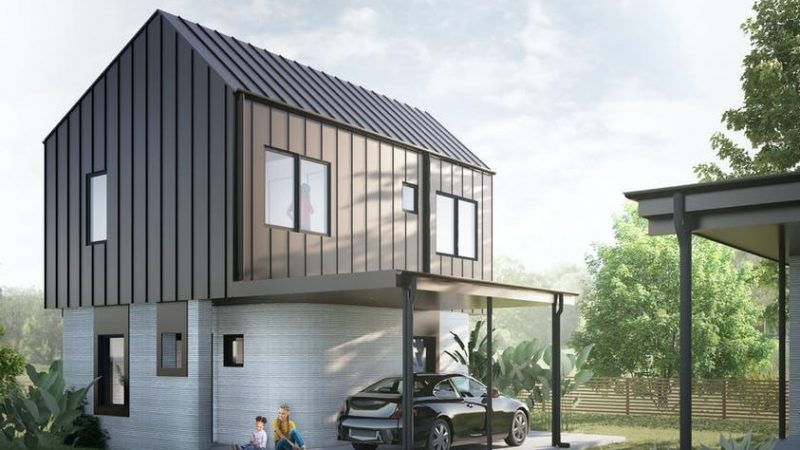 America's First 3D Printed Homes for Sale in Austin, Texas