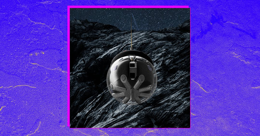Europe Builds Autonomous Robotic Orb to Explore Lunar Caves