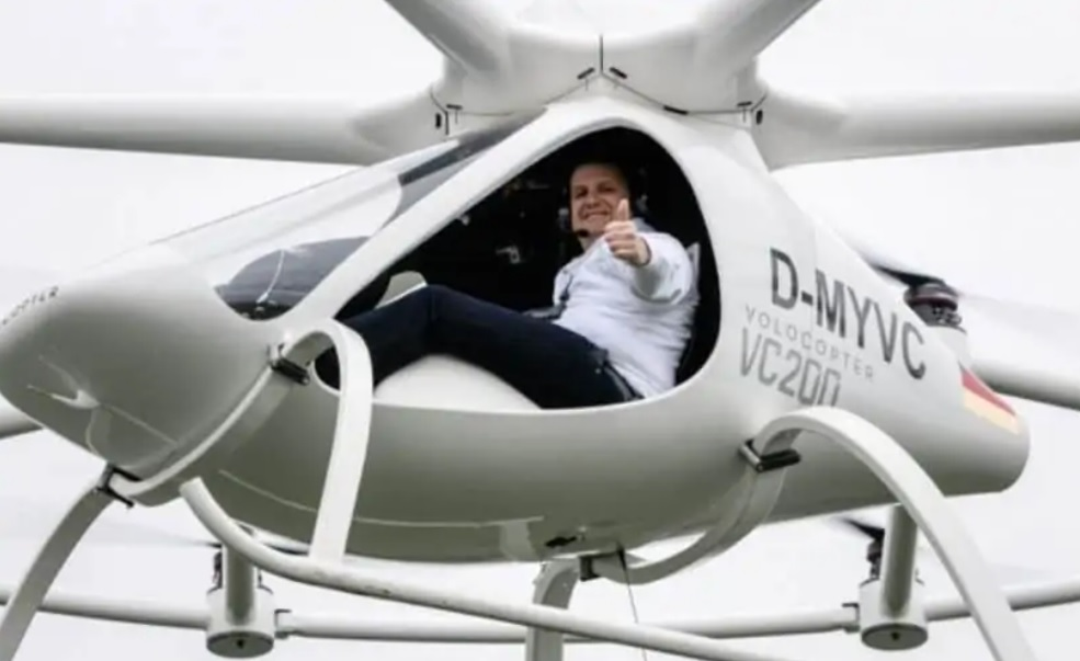 Volocopter raises £173M, German flying taxi startup expects to launch services by 2023